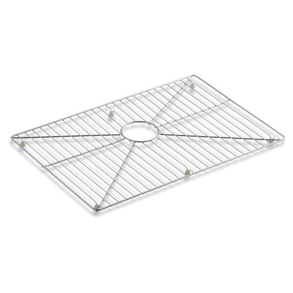 Vault /Strive Stainless Steel Sink Rack, 26 x 16-11/16 for 30 Single-Bowl Apron-Front Sink by Kohler