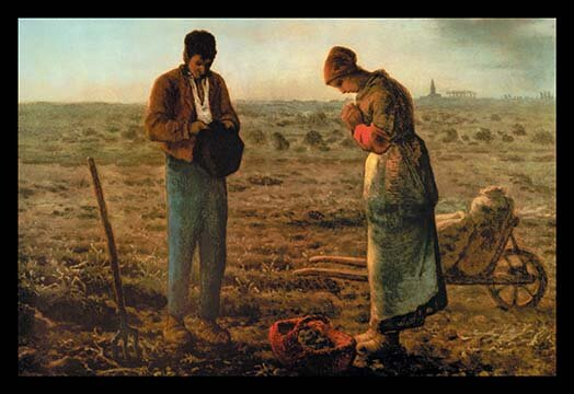 Buyenlarge The Angelus By Jean Francois Millet Painting