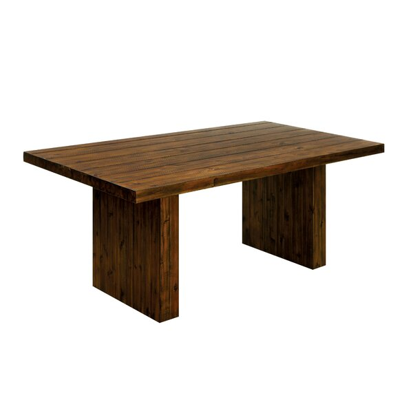 Resto Solid Wood Dining Table by Loon Peak
