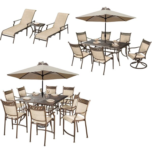 Doucette 23 Piece Bar Height Dining Set by Red Barrel Studio