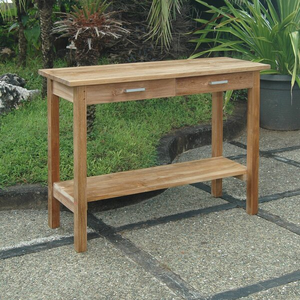 Modena Solid Wood Bar Table By Anderson Teak
