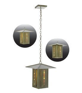 Moss Creek Stepping Stone 1-Light Pendant by Meyda Tiffany
