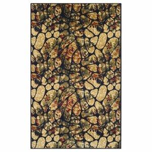Colena Mosaic Tile Beige/Green Area Rug