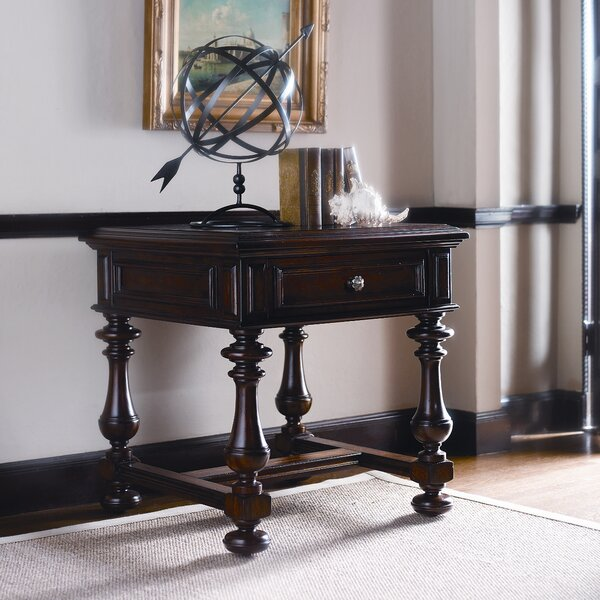 Costa Del Sol End Table with Storage by Stanley Furniture