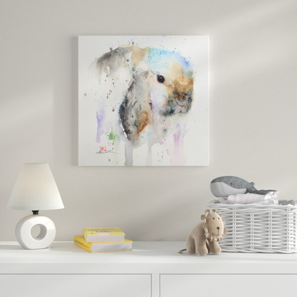 Chloe by Dean Crouser Painting Print on Wrapped Canvas by Zoomie Kids