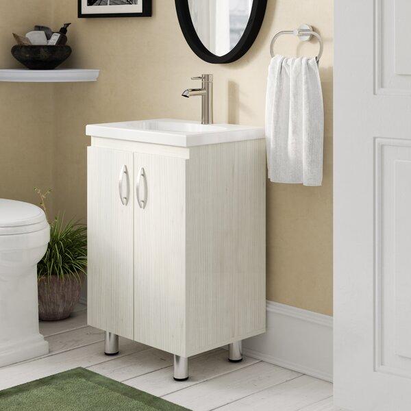Teuscher 19 Single Bathroom Vanity Set by Ebern De