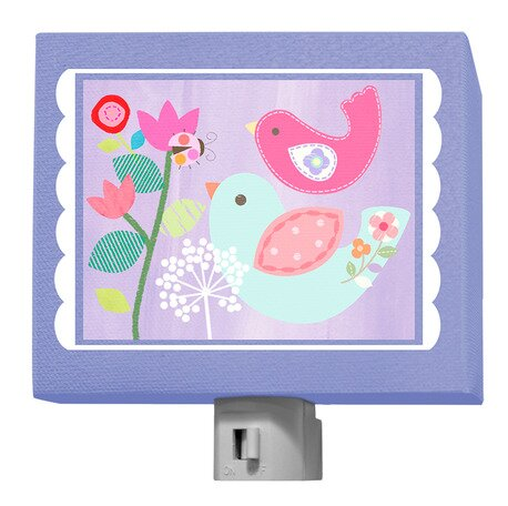 Enchanted Bird Night Light by Oopsy Daisy