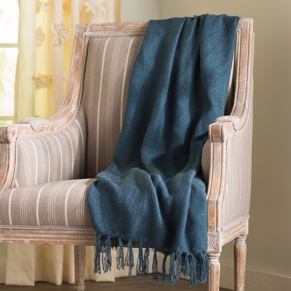 Bovina Throw Blanket by Andover Mills