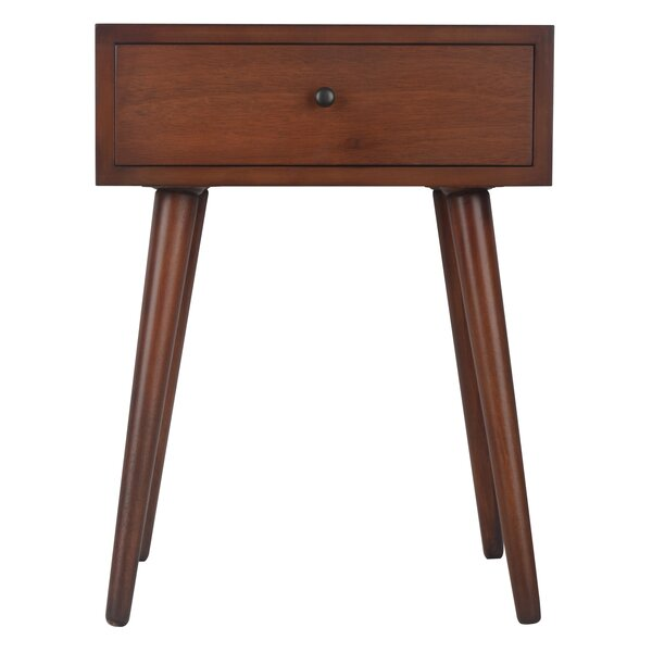 Grant End Table With Storage by Langley Street