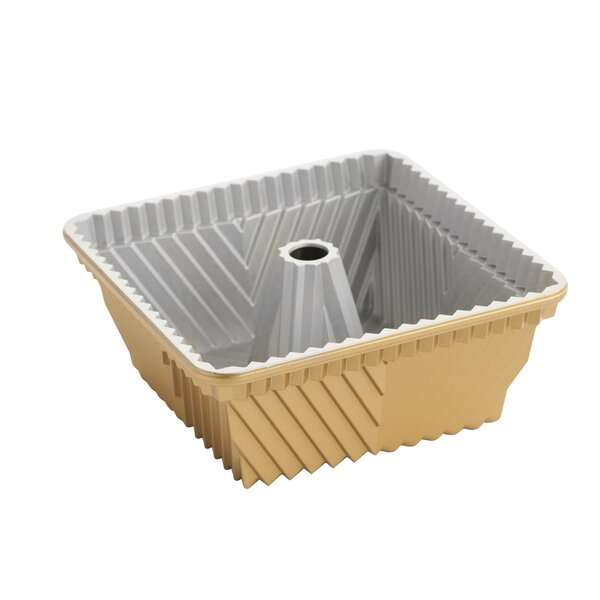 Non-Stick Square Bundt Cake Pan by Nordic Ware