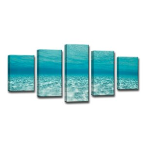 'Crystaline Waters' by Christopher Doherty 5 Piece Framed Photographic Print on Wrapped Canvas Set by Ready2hangart