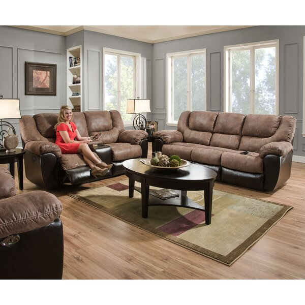Derosier Reclining Configurable Living Room Set by Darby Home Co Darby Home Co