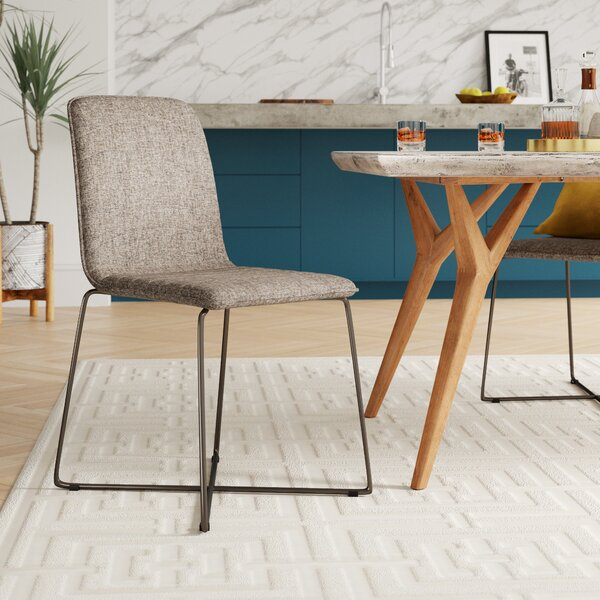 Upholstered Dining Chair (Set of 2) by Mercury Row