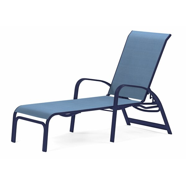 Primera Sling Reclining Chaise Lounge