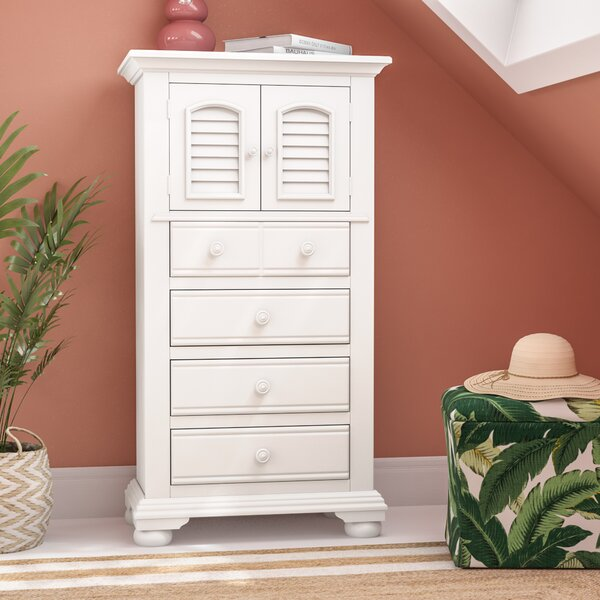 Morpeth 4 Drawer Combo Dresser by Three Posts