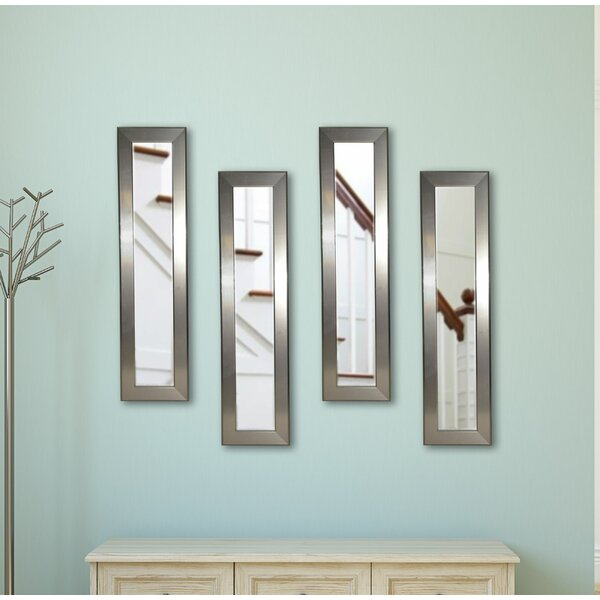 4 Piece Seniti Panels Mirror Set by Orren Ellis