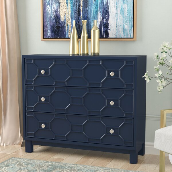 Rosen 3 Drawer Accent Chest by Willa Arlo Interiors