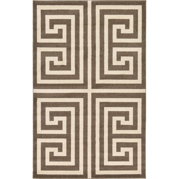 Ellery Brown Area Rug by Willa Arlo Interiors