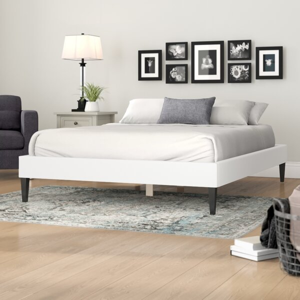 Skylar Upholstered Platform Bed by Andover Mills