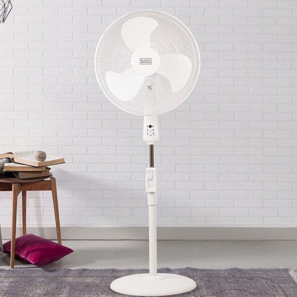 Decker 18 Oscillating Floor Fan by Black + Decker