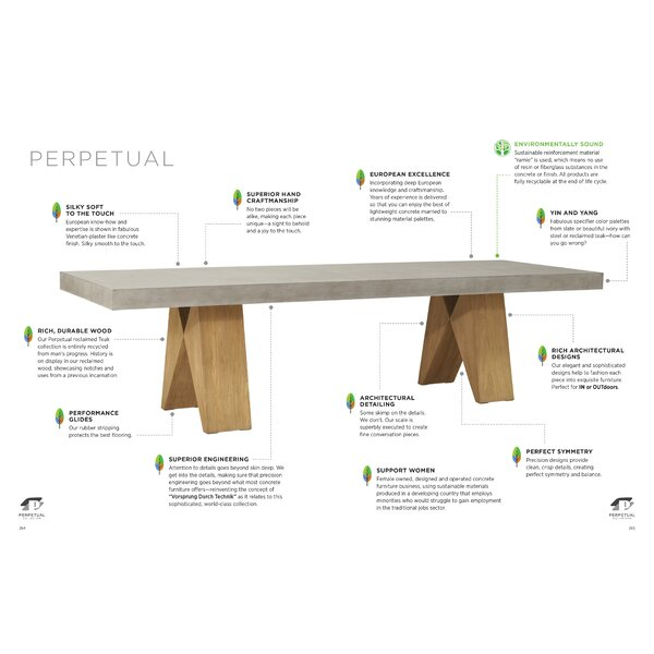 Perpetual Dining Table by Seasonal Living Seasonal Living