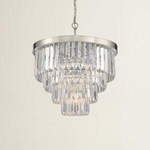 Dyanna 6-Light Crystal Chandelier