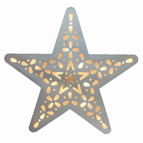 Battery Operated 15-Light LED Star Night Light by Creative Motion