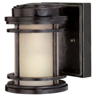 Reviews Teminot 1-Light Outdoor Wall Lantern By Bloomsbury Market