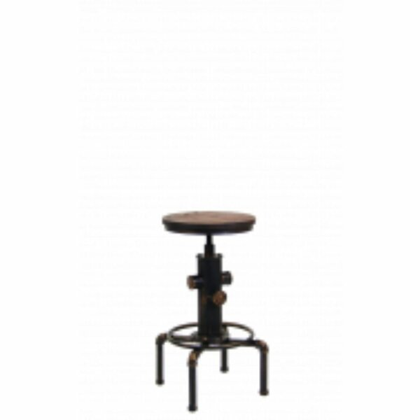 Swivel Adjustable Height Bar Stool by ERF Inc. ERF Inc.