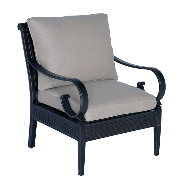 Roma Club Chair with Cushions by Meadow Decor