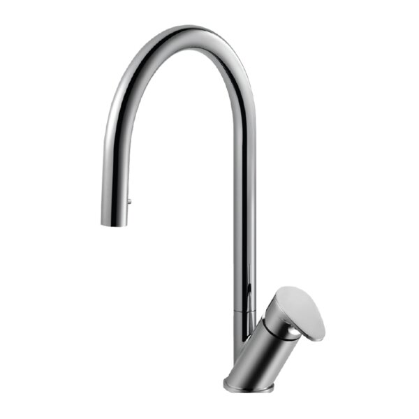 Oni Hidden Pull-down Single Handle Kitchen Faucet by Houzer
