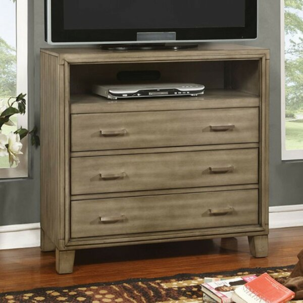 Poulsen Media 4 Drawer Chest by Union Rustic