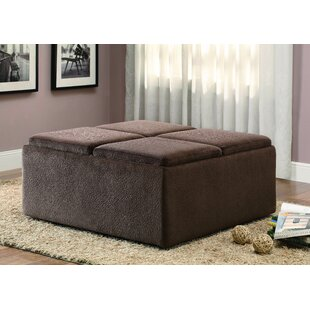 Affordable Driftwood Storage Ottoman By Latitude Run
