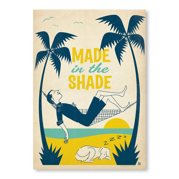 Made in The Shade Vintage Advertisement by East Urban Home