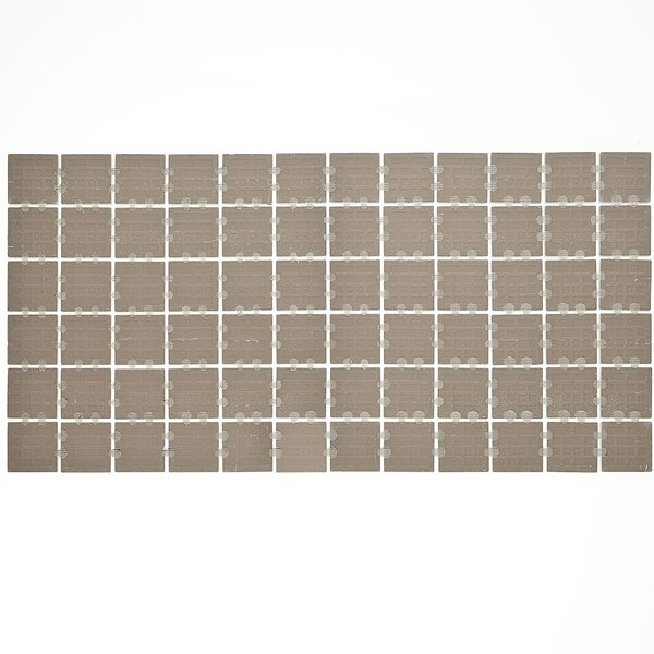 Slate Attaché 12 x 24 Porcelain Mosaic Tile in Meta Beige by Daltile