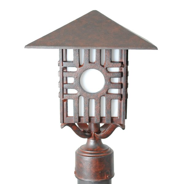 Penfield Zia Series 1 Light 15 Post Lantern by Alcott Hill