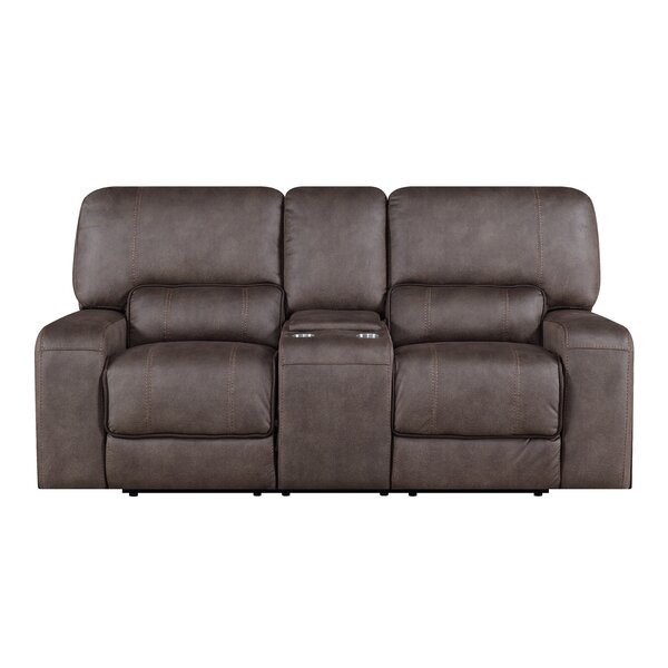 Farrier Console Reclining Loveseat by Latitude Run