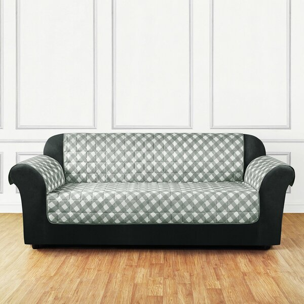 Furniture Flair Flash Box Cushion Sofa Slipcover by Sure Fit