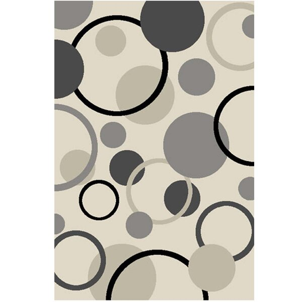 Jorma Gumball Gray Area Rug by Latitude Run