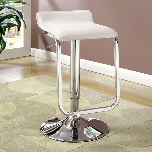Tabit Adjustable Height Swivel Bar Stool by Orren Ellis