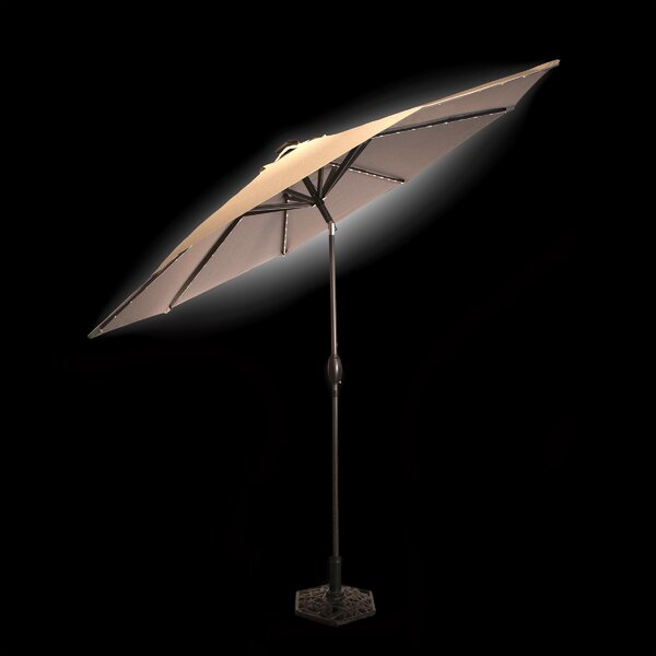Solar 9' Market Umbrella by Sunbeam