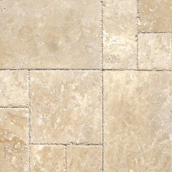 Tuscany Beige Travertine Field Tile in Honed Beige by MSI