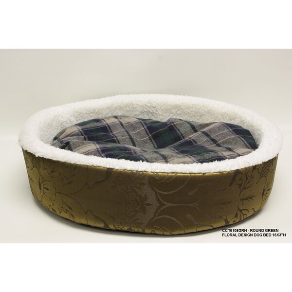 Round Floral Dog Bed by Desti Design