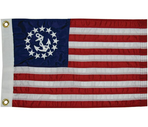Sewn U.S. Yacht Traditional Flag by Taylor Made Products