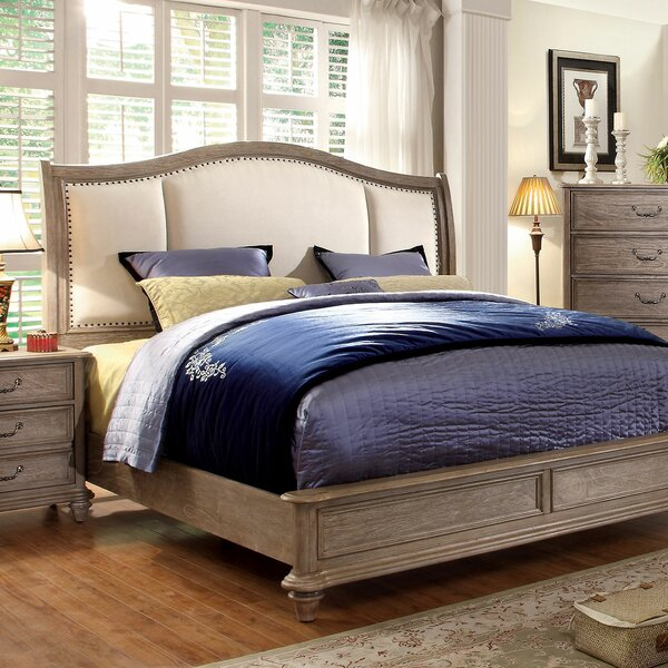 Rumley Upholstered Standard Bed by Canora Grey