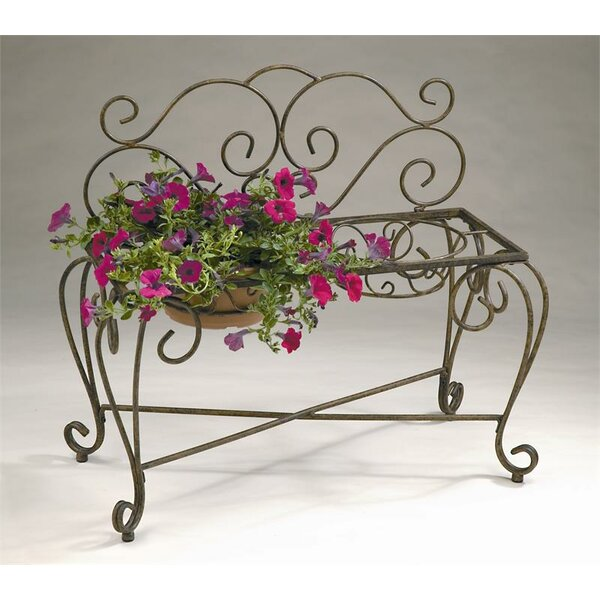 Deer Park Rectangle Bench Plant Stand by Southern Patio®