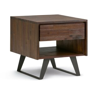 Lowry End Table with Storage BySimpli Home