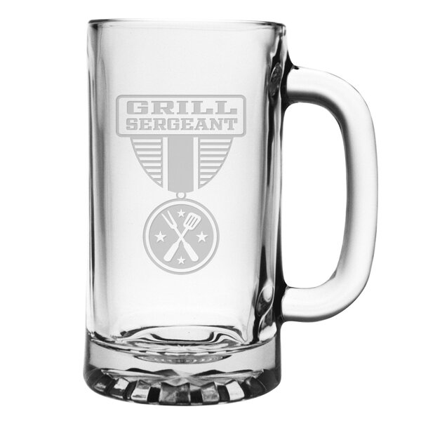 Grill Sergeant Pub Beer Mug by Susquehanna Glass