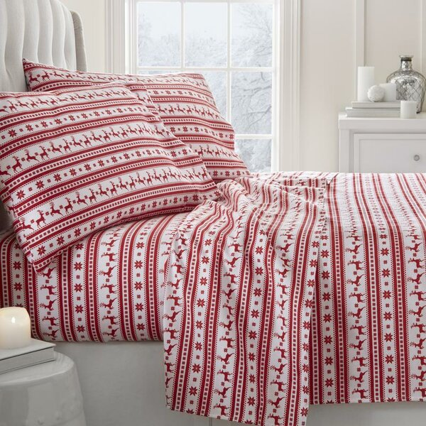 Reindeer Sheet Set by The Holiday Aisle
