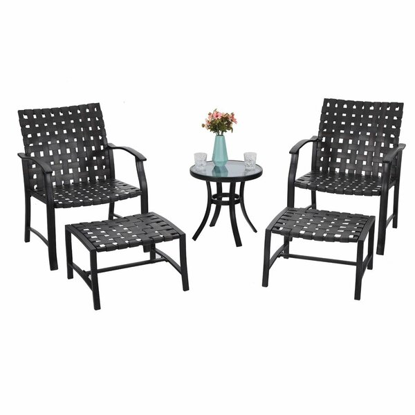 Stinnett 5 Piece (Set of 2) by Charlton Home